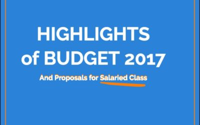 Budget 2017 Highlights and Tax Update