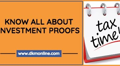 Investment Proofs for Income Tax Declaration