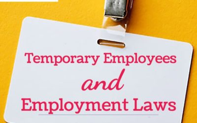Temporary Employees and Employment Laws, an armor