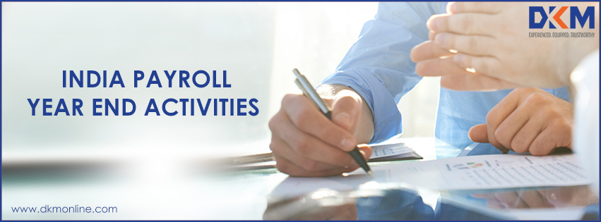 India Payroll – Year End Activities