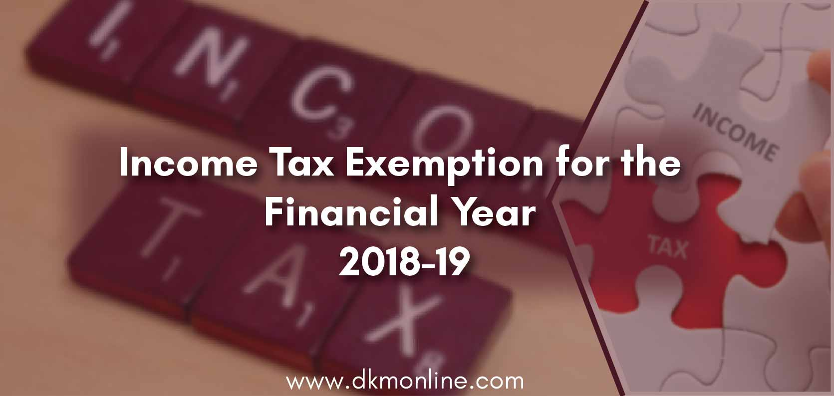 Income Tax Deduction Planning
